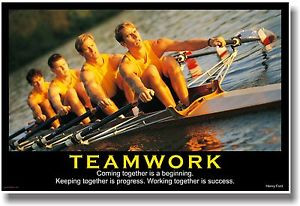 ... Motivational-TEAMWORK-POSTER-Henry-Ford-Quote-Sports-Rowing-Crew-Team