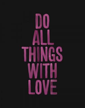 black, love, paint, purple, quote, words