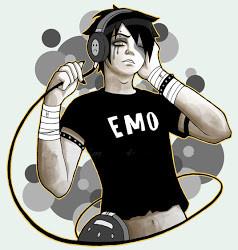 El emo-quothes,es el thipiko emo el cual llora por cual quier cosa ...