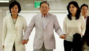 Lee Kun-Hee Family Photo's