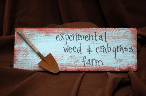 Signs and Quotes for Fairy Gardens