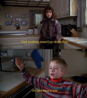 ... happy: Uncle Buck. John Candy never ceases to put a smile on my face