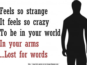 Speechless - Beyonce Knowles Song Lyric Quote in Text Image