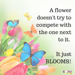 quotes about flowers blooming IWSG: Inspiring Quotes