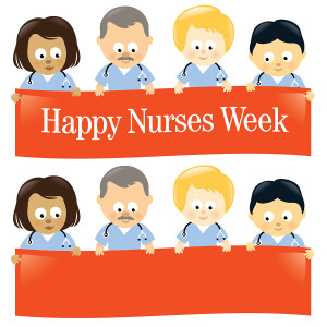 this week is nurses week which means it is all about you