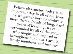 5th Grade Salutatorian And Valedictorian Sample Speeches Free PDF ...