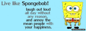 Spongebob quotes about life spongebob covers for facebook