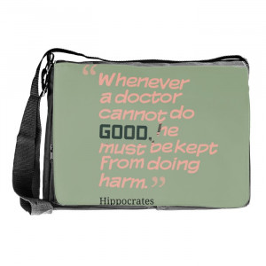 Doctor Funny Quotes Laptop Bags