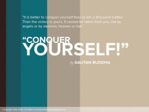 Jaky Astik > Conquer Yourself