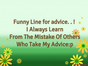Always Learn From The Mistake Of Others...
