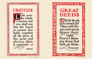 ... free Fall Printable were these great hand lettered Gratitude Quotes