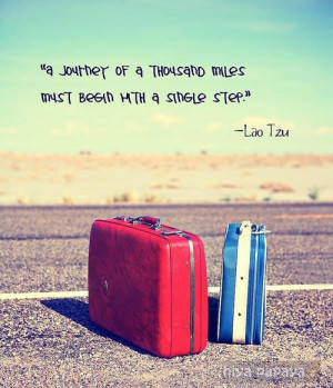 ... this image include: journey, quote, lao tzu, photography and nature