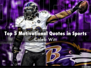 Top 5 Motivational Quotes in Sports
