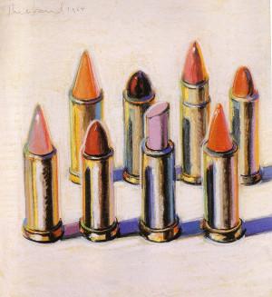 Wayne Thiebaud – Lipstick – 1964
