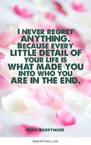Love Quotes About Regret
