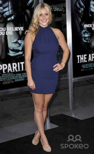 Julianna Guill The Los Angeles Premiere Of Apparition At picture