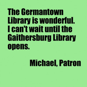 From Michael, a patron.