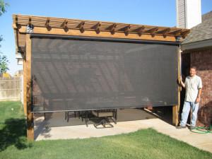 OUTDOOR SPACES – Beat the Heat's patio shades, patio enclosures ...