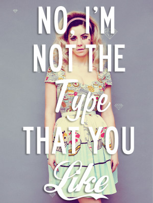 Marina and the Diamonds Quotes Tumblr