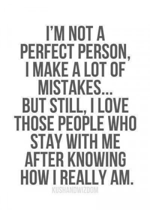 People that stay with me. . .
