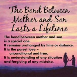Bond between mother's and sons