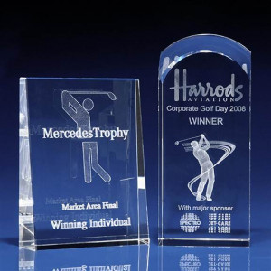 crystal awards and trophies