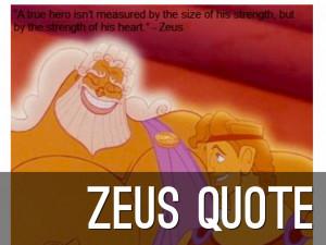 ZEUS QUOTE