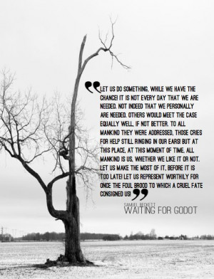 quote from Samuel Beckett's