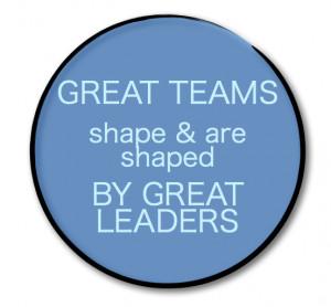 great teams great leaders