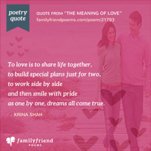 Romantic Poems For Lovers