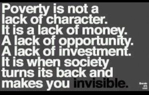 Poverty Quotes Meaningful