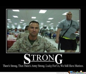 Army Vs. Marines.