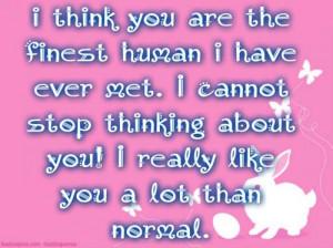 Cute I Like You Alot Quotes