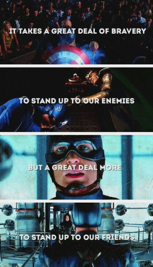 Captain America Funny Quotes, Captain America Quotes, Captain America ...