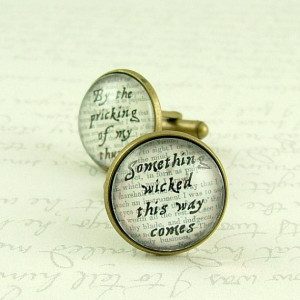 SALE - Macbeth Quote - Something Wicked This Way Comes - Shakespeare ...