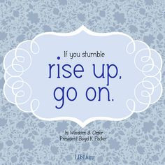 Lds Quotes On Hope Lds quotes, ideas and