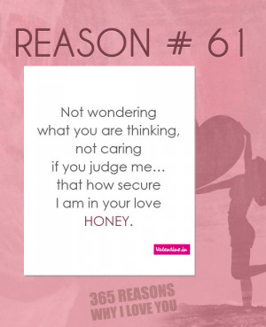 Love U Quotes ☛ 365 Reasons Why I Love You