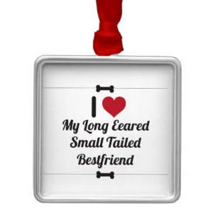 Funny Dog Quote Christmas Tree Ornament