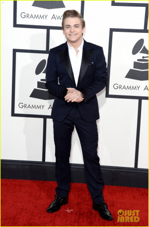 hunter hayes grammys 2014 red carpet 04