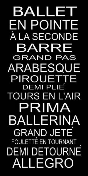 Ballet En Pointe A La Seconde Barre Grand Pas Arabesque Pirouette Demi ...