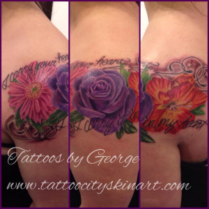 Tattoos By George Bardadim Guest Artist At Tribo Tattoo Picture