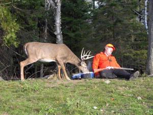 English Comedy photos - A hunter sleeps tired of hunting ....