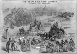 Andrew Jackson Indian Removal Political Cartoon