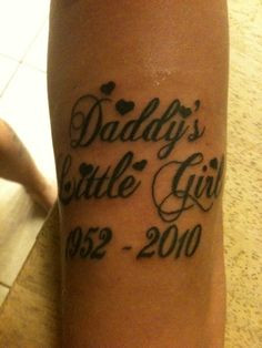 Rest In Peace Dad Quotes Tumblr On tattoo titled rip dad i