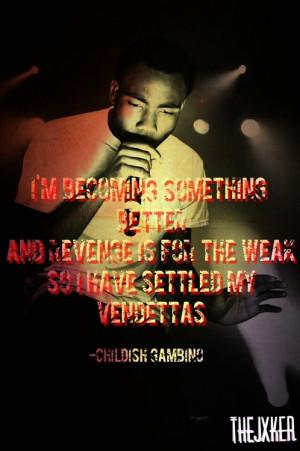 Childish Gambino Quotes...