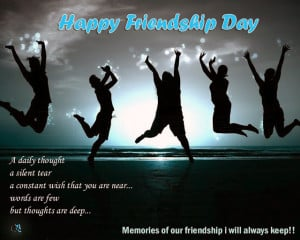 SMS:Happy Friendship Day memories of our friendship i will keep in my ...