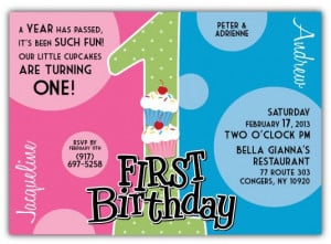 ... Birthday Invitations, for boy-girl twins, twin girls and twin boys on