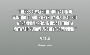 Pat Riley Quotes