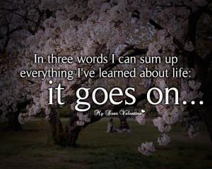 Three Words...