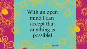 Positive affirmation to encourage you to manifest your destiny!